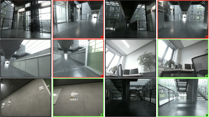 Visual Place Recognition to Support Indoor Localisation